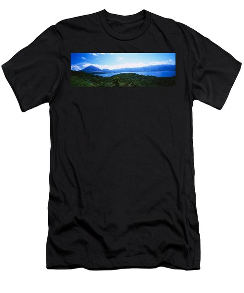 Clouds Over A Volcano, Arenal Volcano Men's T-Shirt (Athletic Fit)
