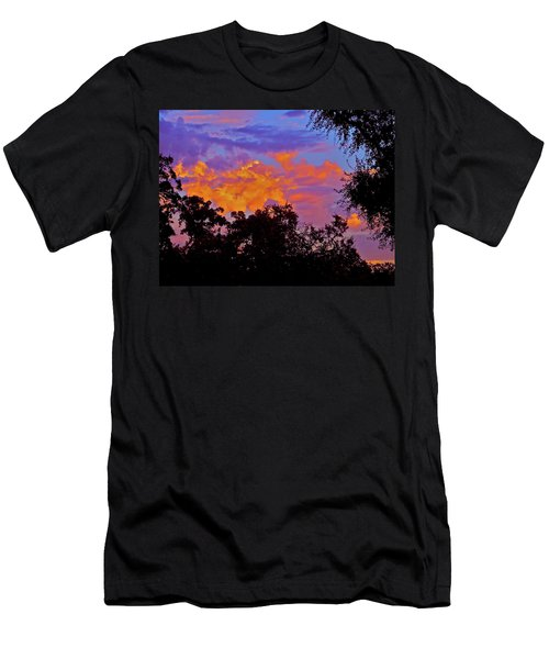 Men's T-Shirt (Slim Fit) featuring the photograph Clouds by Pamela Cooper