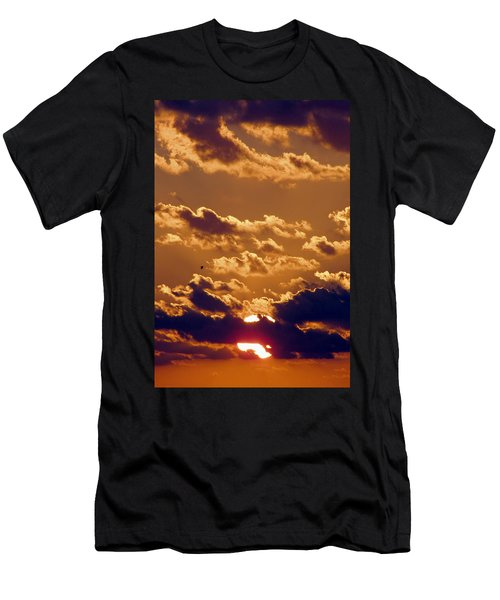 Key West Cloudy Sunset Men's T-Shirt (Athletic Fit)