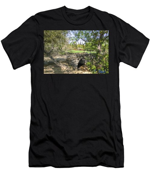 Clover Valley Park Bridge Men's T-Shirt (Athletic Fit)
