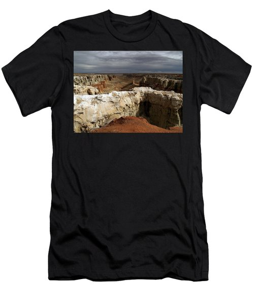Coal Mine Mesa 08 Men's T-Shirt (Slim Fit) by Jeff Brunton