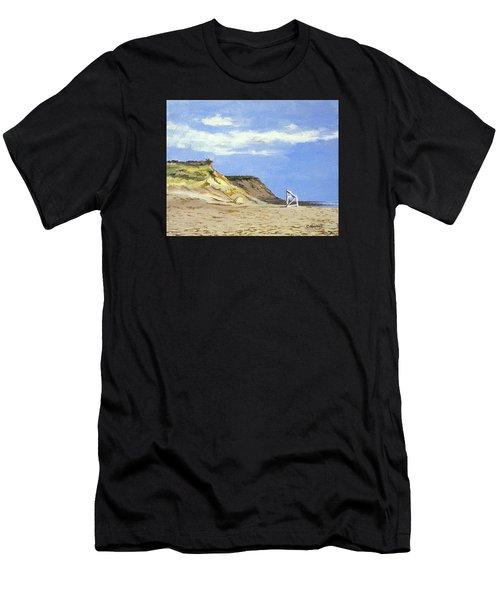 Coast Guard Beach Eastham Cape Cod Massachusetts Men's T-Shirt (Athletic Fit)