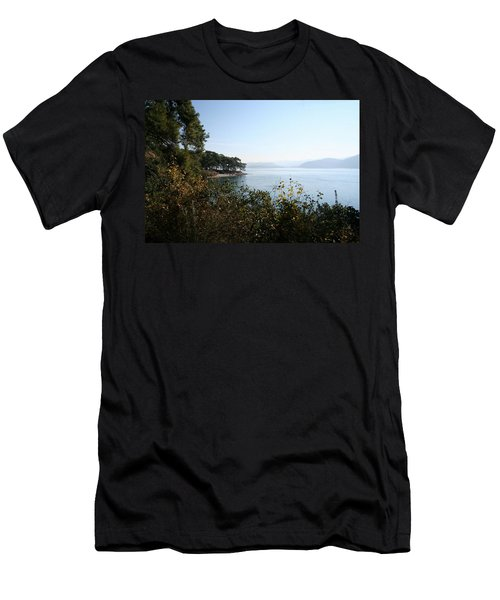 Men's T-Shirt (Slim Fit) featuring the photograph Coast by Tracey Harrington-Simpson