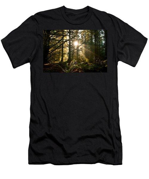 Coastal Forest Men's T-Shirt (Athletic Fit)