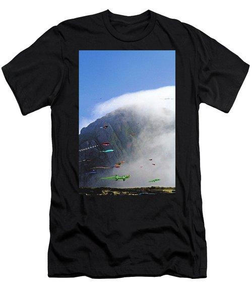 Coastal Kites Men's T-Shirt (Athletic Fit)