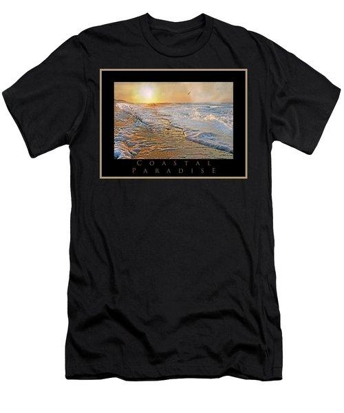 Coastal Paradise Men's T-Shirt (Athletic Fit)