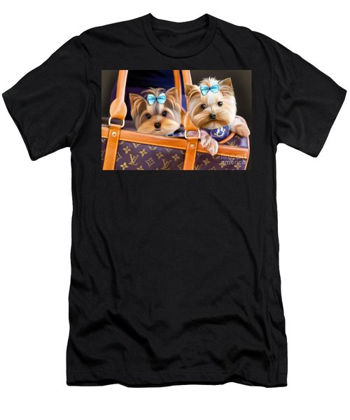 Coco And Lola Men's T-Shirt (Athletic Fit)