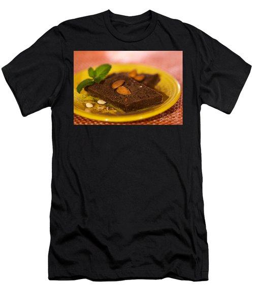 Coconut Almond Squares Men's T-Shirt (Athletic Fit)