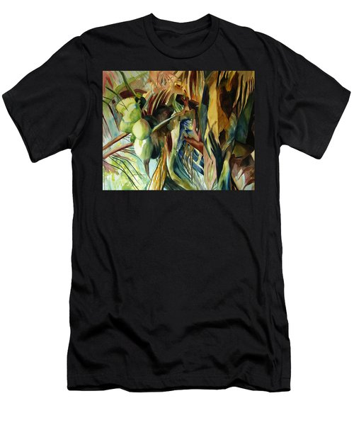 Coconuts And Palm Fronds 5-16-11 Julianne Felton Men's T-Shirt (Athletic Fit)