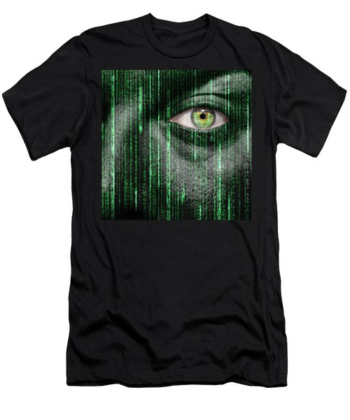 Code Breaker Men's T-Shirt (Slim Fit) by Semmick Photo