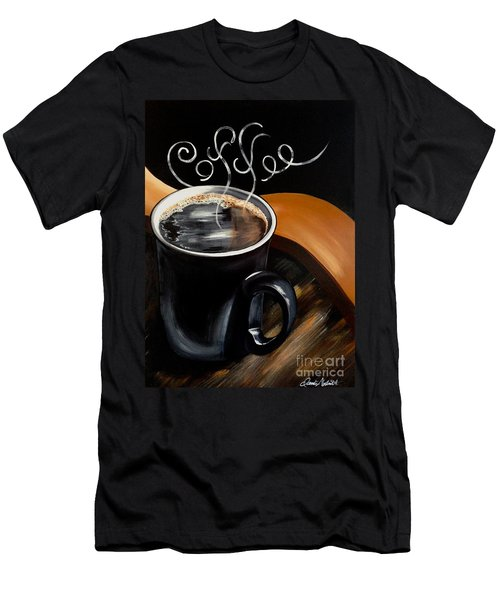 Coffee Break Men's T-Shirt (Athletic Fit)