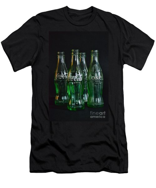 Coke Bottles From The 1950s Men's T-Shirt (Athletic Fit)