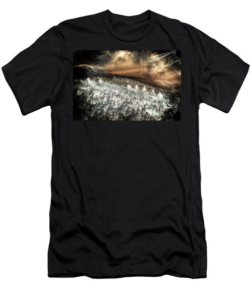 Cold Mountain Men's T-Shirt (Slim Fit) by Tom Culver