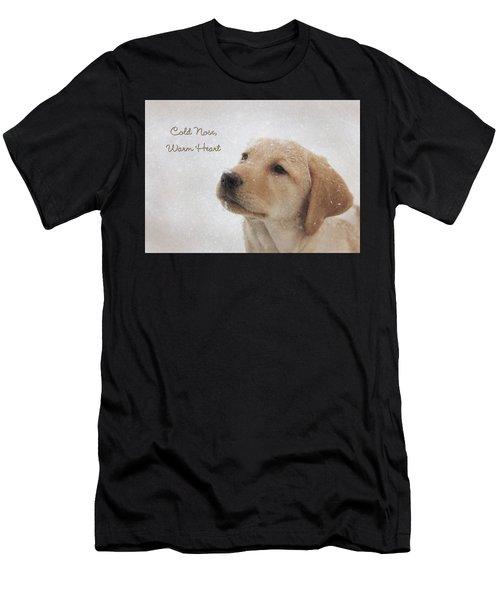 Cold Nose Warm Heart Men's T-Shirt (Athletic Fit)