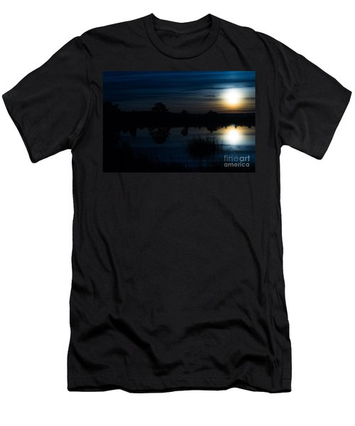 Men's T-Shirt (Slim Fit) featuring the photograph Cold Winter Morning by Angela DeFrias