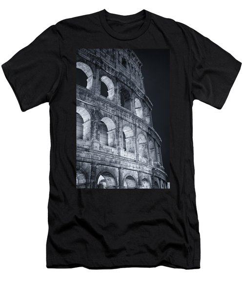Colosseum Before Dawn Men's T-Shirt (Athletic Fit)