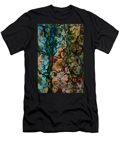 Color Abstraction Xvi Men's T-Shirt (Athletic Fit)