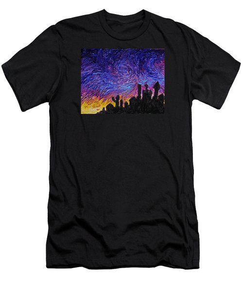 Color Of The Sky Part1 Men's T-Shirt (Athletic Fit)