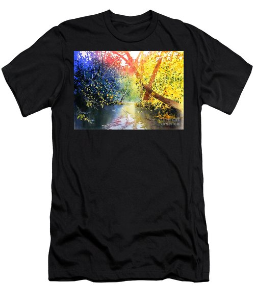 Color Of Trees Men's T-Shirt (Athletic Fit)
