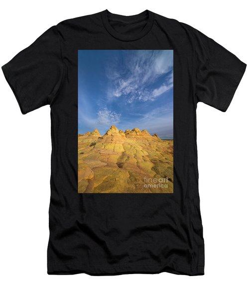 Colorado Plateau Coyote Buttes Arizona Men's T-Shirt (Athletic Fit)