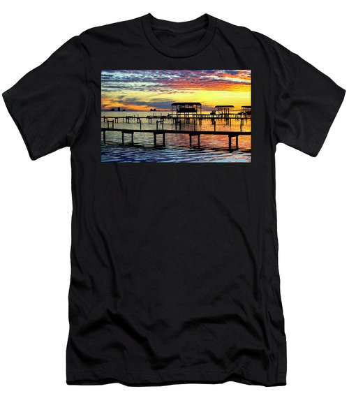 Colored Glass Men's T-Shirt (Athletic Fit)
