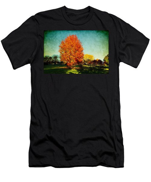 Colorful Autumn Men's T-Shirt (Athletic Fit)