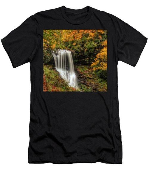 Colorful Dry Falls Men's T-Shirt (Athletic Fit)