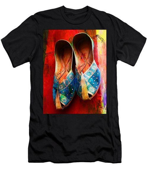 Colorful Footwear Juttis Sales Jaipur Rajasthan India Men's T-Shirt (Athletic Fit)