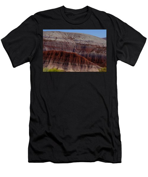 Colorful Mountain Men's T-Shirt (Athletic Fit)