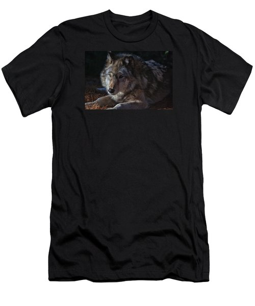 Colors Of A Wolf Men's T-Shirt (Athletic Fit)
