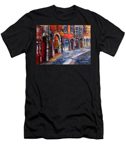 Colors Of Lyon 2 Men's T-Shirt (Athletic Fit)