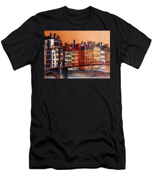 Colors Of Lyon I Men's T-Shirt (Athletic Fit)