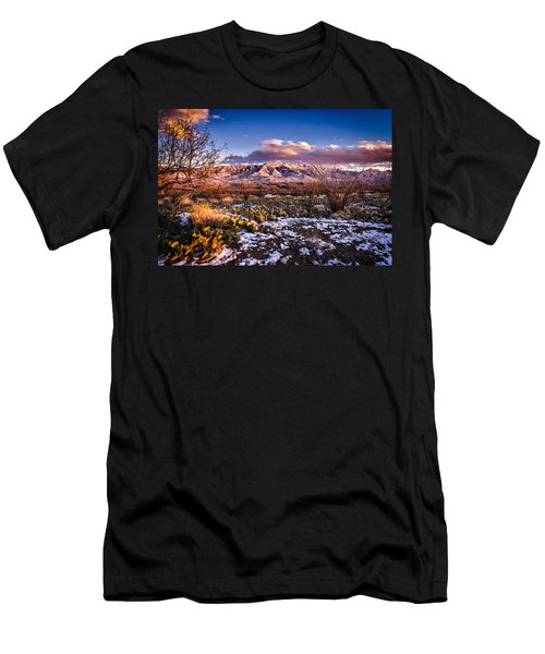 Men's T-Shirt (Slim Fit) featuring the photograph Colors Of Winter by Mark Myhaver