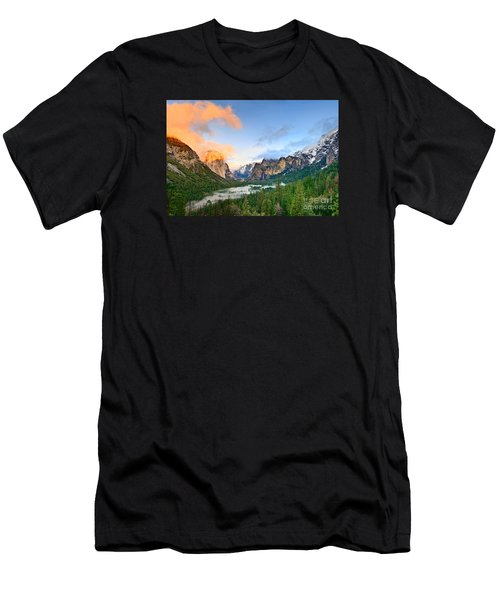 Colors Of Yosemite Men's T-Shirt (Slim Fit) by Jamie Pham