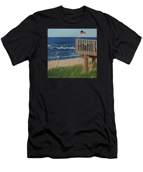 Colors On The Breeze Men's T-Shirt (Athletic Fit)