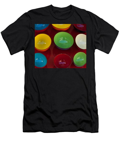Colors Tray Men's T-Shirt (Athletic Fit)
