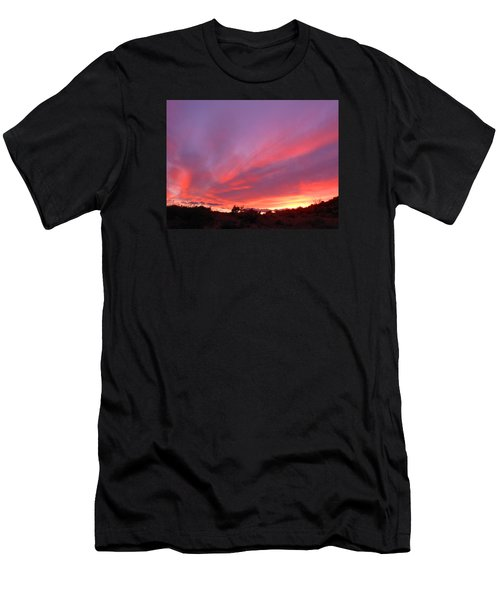 Colourful Arizona Sunset Men's T-Shirt (Athletic Fit)