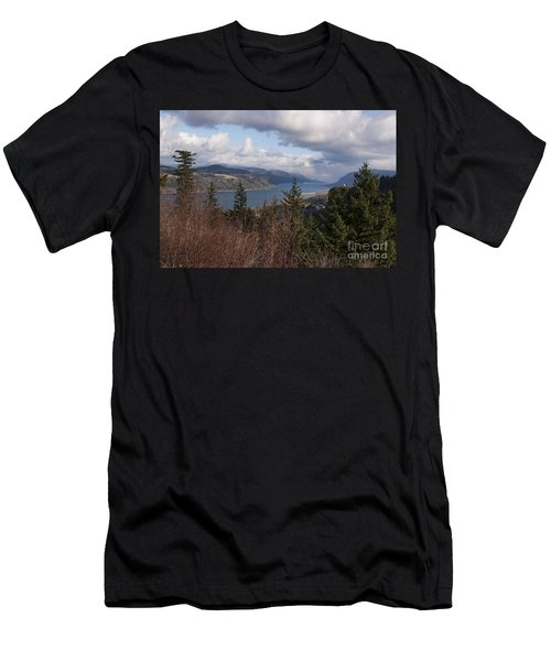 Men's T-Shirt (Slim Fit) featuring the photograph Columbia Gorge by Belinda Greb