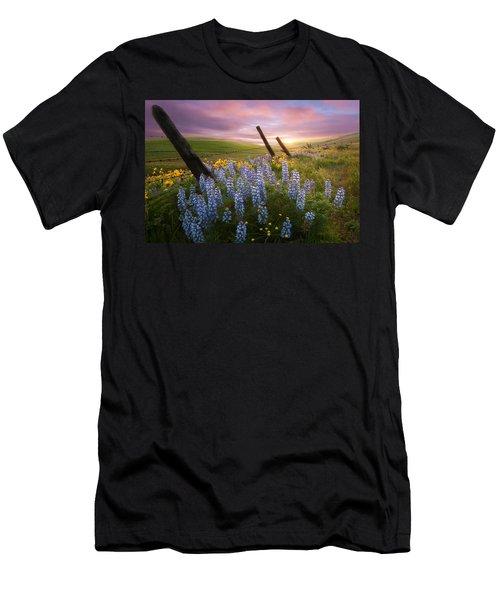 Columbia Hills Sunset Men's T-Shirt (Athletic Fit)