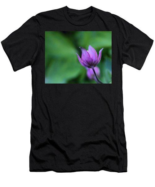 Columbine Flower Bud Men's T-Shirt (Athletic Fit)