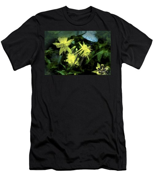 Columbines Painterly Men's T-Shirt (Athletic Fit)
