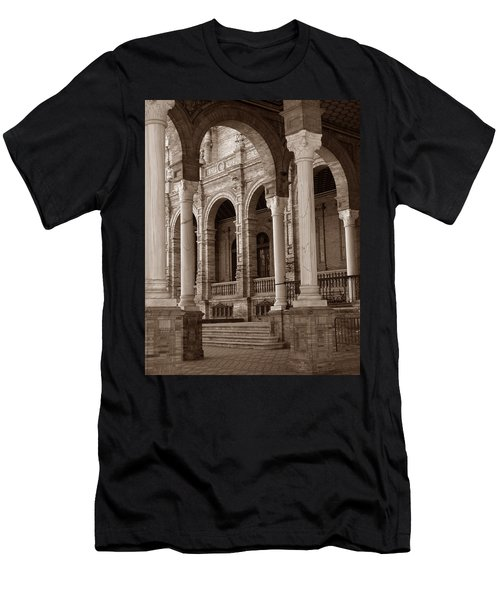 Columns And Arches Men's T-Shirt (Athletic Fit)
