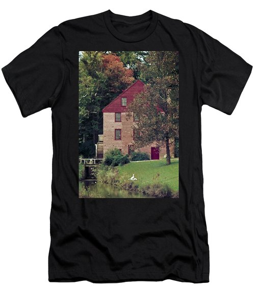 Colvin Run Mill Men's T-Shirt (Slim Fit) by Greg Reed