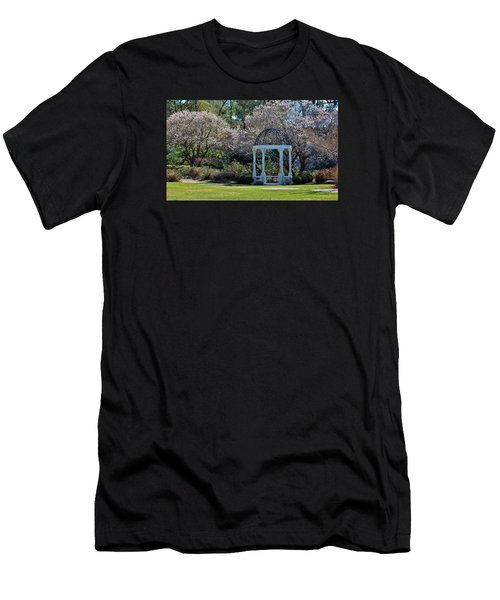 Come Into The Garden Men's T-Shirt (Slim Fit) by Cynthia Guinn