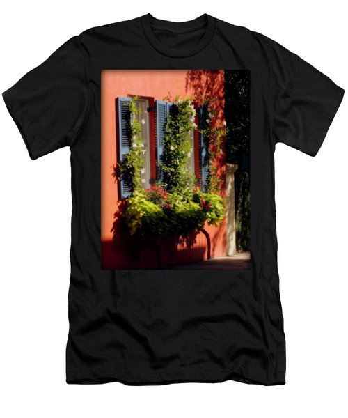 Come To My Window Men's T-Shirt (Slim Fit) by Karen Wiles