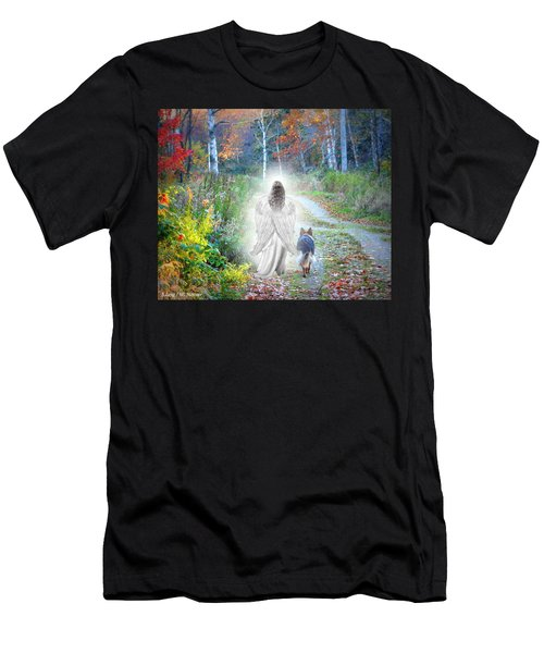 Come Walk With Me Men's T-Shirt (Athletic Fit)
