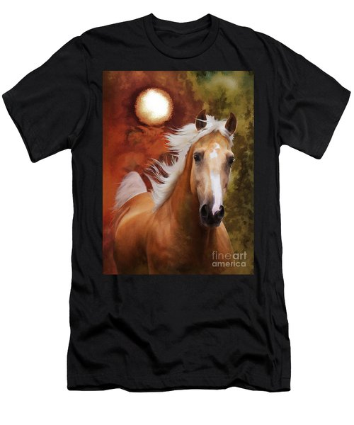 Men's T-Shirt (Athletic Fit) featuring the photograph Comin' Home by Melinda Hughes-Berland