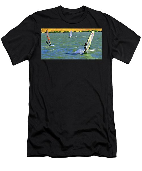 Coming And Going Men's T-Shirt (Athletic Fit)