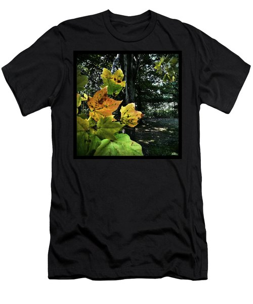 Coming Of Fall Men's T-Shirt (Athletic Fit)