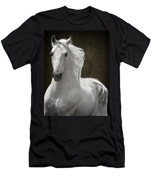 Men's T-Shirt (Slim Fit) featuring the photograph Coming Your Way by Wes and Dotty Weber